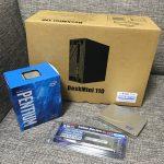 ベアボーンASRock Desk Mini 110(Bios1.5)+Pentium G4560(Kaby Lake)購入レビュー